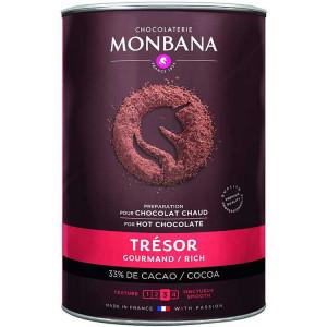 Chocolat en poudre MONBANA, 1 kg