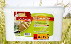Farine 6 céréales